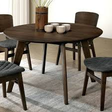 modern round dining table furniture of mid century modern round dining table walnut modern dining table