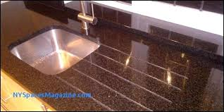polishing granite countertops before and after