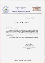 6 Certificate Of Employment Sample Teacher Primary Write