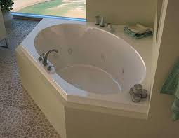 jetted bath tub x corner air whirlpool jetted bathtub with center drain by jacuzzi bathtub parts