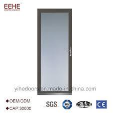 china strong aluminum glass doors