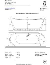 clawfoot tub dimensions. Clawfoot Tub Dimensions The Small B