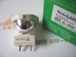Fiber Optic Light Bulb Us 695 0 Al 1824 Welch Allyn Al1824 18w 24w Solarc Bulb Endoscope Fiber Optic Light Source Welchallyn Ushio Inspeciton Arc Lamp In Light Beads From