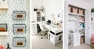 Home office home office organization ideas room Wall 14 Genius Home Office Organization Ideas To Create The Perfect Workspace Homebnc 14 Best Home Office Organization Ideas And Projects For 2019