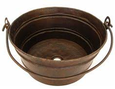 rustic bathroom vessel sinks. copper bucket sink rustic bathroom vessel sinks e