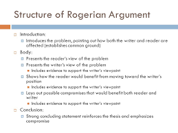 chapter rogerian argument toulmin logic and oral arguments  7 structure