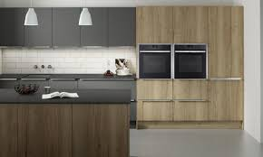 Second Nature Kitchen Doors A Contemporary Accent Door With A Textured Wood Effect