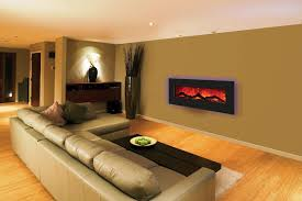 Small Picture Wall Mounted Electric Fireplace for Limited Room Size and Modern