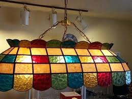 tiffany style light fixtures show tell antique lamps collectors weekly in stained glass pool table decorating