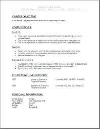 Sample College Resume High School Senior High School Student Resume
