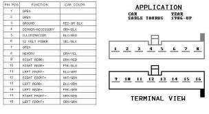2008 ford taurus radio wiring diagram wiring diagram simonand Ford Taurus Fuse Box at 1993 Ford Taurus Wiring Diagram