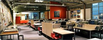 office spaces design. trends in office space design reducing size and designing more open concepts to spaces e