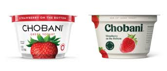 chobani before and after