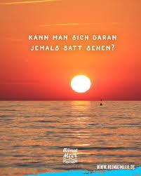 Kann Man Sich An Strand Meer Sonnenuntergang Jemals Satt Sehen