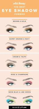 Eyeshadow Color Combination Chart This Color Combo Chart Is Great If You Need A Little