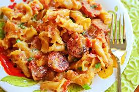 y sausage pasta
