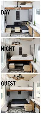 tiny house design ideas. Love How This Tiny House Converts From Day To Night. Open Concept Rustic Modern Design Ideas G