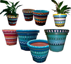 Different Designs Of Flower Pots Mexican Flower Designs Mexican Flower Pot Design Flower