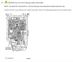 e4od check ball diagram e4od image wiring diagram 1995 ford f 250 hey guys 4x4 e40d auto transmission i need to know on e4od
