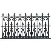 wrought iron fence victorian. 2 Pc Victorian Wrought Iron Fence - Product Image Wrought Iron Fence Victorian