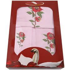 <b>Набор полотенец GRAND</b> TEXTIL «Роза», <b>3 шт</b>. в Санкт ...