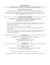 Cover Letter Sample Objective For Internship Resume Objective For