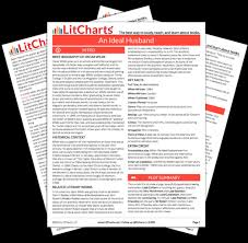 an ideal husband study guide from the creators of  the printed pdf version of the litchart on an ideal husband ""