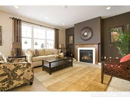 interior dark brown accent wall house interiors interesting modest 4 brown accent wall