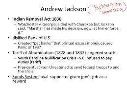 Indian removal act andrew jackson Map Indian Removal Slideplayer Manifest Destiny And Other Crimes Against The Native American Nations