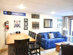 Carrabassett Valley Condo Rental   Living/Dining Area