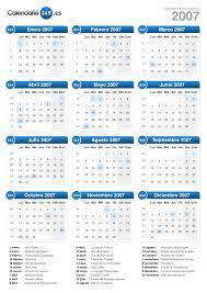 Calendario 2007 Mexico Calendario 2007