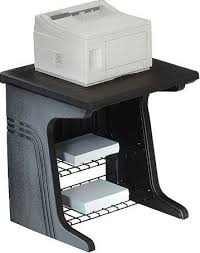 large printer stand. Fine Large Iceberg Enterprises 93001 Aspira Printer Stand Black Large Printer  Surface Accommodates Most Office Printers Inside Stand V