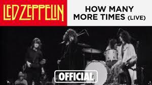 <b>Led Zeppelin</b> - How Many More Times (Danmarks Radio 1969)