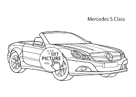 Small Picture car Mercedes S class coloring page cool car printable free