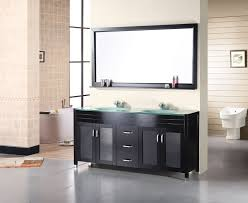 Bathroom Vanity Double Cool Design Element Waterfall Double 48Inch Modern Bathroom Vanity Set
