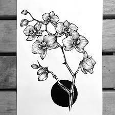 фото татуировки орхидея