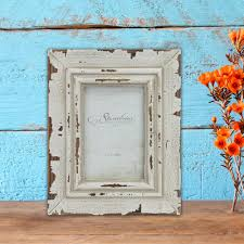 stonebriar collection 1 opening 4 in x 6 in weathered white picture frame