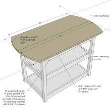 drop leaf storage table woodworking plans wood plans