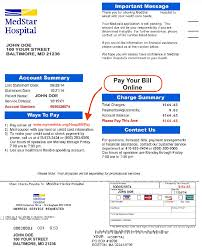How To Get A Doctors Note For Work Without Insurance Billing And Insurance Medstar Health