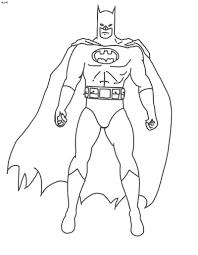 Disegni Di Batman Da Colorare Foto Nanopress Donna