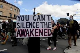 Sydney protest today live stream. Anti Lockdown Protest Hundreds Flock Sydney Streets To Protest The City S Covid 19 Stay At Home Orders 7news