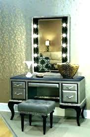 Bedroom Vanity Set With Lights Mirrored Bedroom Vanity Bedroom ...