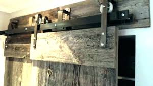 box rail barn door hardware rollers and track sliding bypass closet kit bq