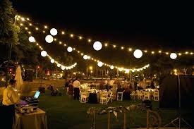 backyard party decorations cool string lights outdoor with globe light led on a budget