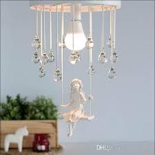 modern art angel chandelier led lamps nordic creative living room bedroom led chandelier e27 led re light chandeliers ceiling lights with