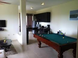 kitchen room pull table: me hotel in montanita estates living room pool table kitchen open spaces