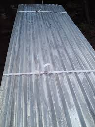 8 x 26 heavy duty corrugated galvanised roofing sheets