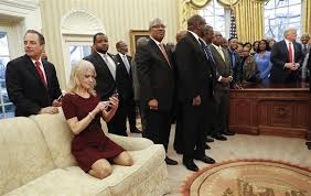 oval office picture. Image: Trump Meets With Leaders Of Historically Black Colleges And Universities Oval Office Picture