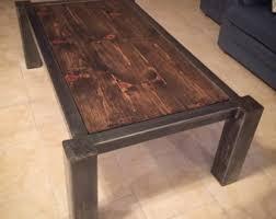 Modern Industrial Coffee Table
