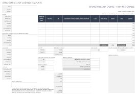 Universal Bill Of Lading Free Bill Of Lading Templates Smartsheet